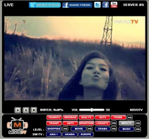 MEMASANG TV ONLINE DI WORDPRESS.COM